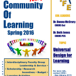 New Community of Learning Spring 2016 Join Today! COL Leaders: Dr. Donna McCrary, COEHS C&I, Dr. Beth Jones, COEHS PCS, For more information, contact CFEI: Gee Library, #173, CFEI.FacultyDev@tamuc.edu, 903-886-5511. Learn more about Communities of Learning at www.tamuc.edu/CFEI. Contact Felicity Grandjean to join this Community of Learning focused on Universal Design for Learning! This Community of Learning will begin in March.