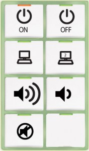Crestron Push Button Control