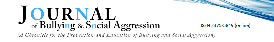 Journal of Bullying & Social Aggression